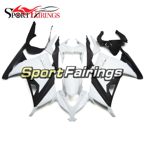 Fairing Kit Fit For Kawasaki EX300R / Ninja 300 2013 -  2015  - White Black