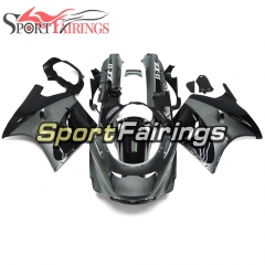 Fairing Kit Fit For Kawasaki ZZR1100 / ZX11 1993 - 2003  -Gloss Black Sliver