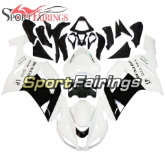 Fairing Kit Fit For Kawasaki ZX6R 2007 - 2008 - White Black