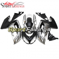 Fairing Kit Fit For Kawasaki ER-6F / Ninja 650r 2012 - 2016 Sliver Black