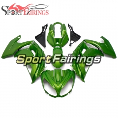 Fairing Kit Fit For Kawasaki ER-6F / Ninja 650r 2012 - 2016 Green