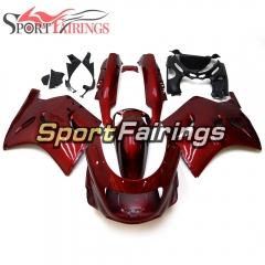 Fairing Kit Fit For Kawasaki ZZR1100 / ZX11 1993 - 2003  -Pearl Red