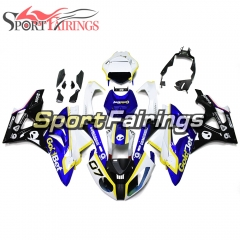 Fairing Kit Fit For BMW S1000RR 2011 - 2014 - Blue White Yellow
