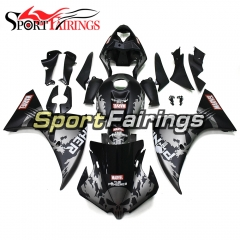 Fairing Kit Fit For Yamaha YZF R1 2012 - 2014 - Grey Black