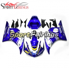 Fairing Kit Fit For Yamaha YZF R6 2003 2004 R6S 06 - 09 - Blue Yellow