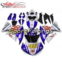 Fairing Kit Fit For Yamaha YZF R1 2009 - 2011 - White Blue