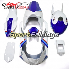 Firberglass Fairing Kit Fit For BMW S1000RR 2015 2016 - White Blue