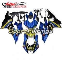 Fairing Kit Fit For Yamaha YZF R6 2017 - Yellow Blue Shark