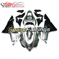 Full Fairing Kit Fit For Kawasaki ZX10R 2004 - 2005 - Ninja ZX10R 04 05 Matte Grey Black Cowlings