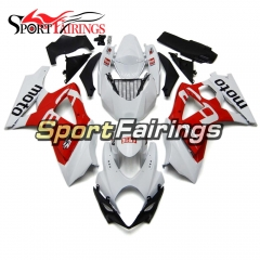 Fairing Kit Fit For Suzuki GSXR1000 K7 2007 - 2008 - White Red
