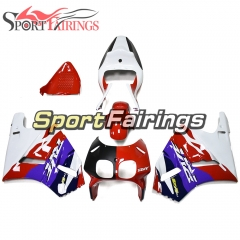 Fairing Kit Fit For Honda RVF400R NC35 V4 1993 - 1998 - White Red Blue
