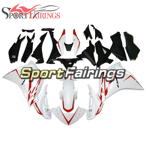 Fairing Kit Fit For Honda CBR250RR 2011 - 2014 -  White Red Decals