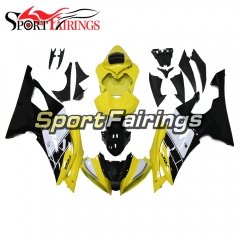Fairing Kit Fit For Yamaha YZF R6 2008 - 2016 - White Yellow
