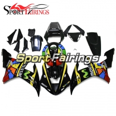 Fairing Kit Fit For Yamaha YZF R1 2002 2003 - Black Yellow