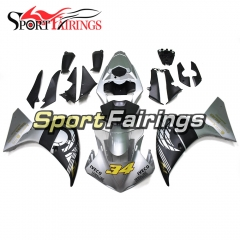 Fairing Kit Fit For Yamaha YZF R1 2009 - 2011 - Silver Grey