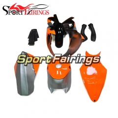 Fiberglass Racing Fairing Kit Fit For Yamaha YZF R1 2009 - 2011 - Silver Orange