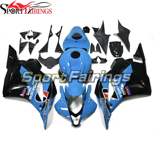 Racing Fairing Kit Fit For Honda CBR600RR F5 2009 - 2012 - Blue Black
