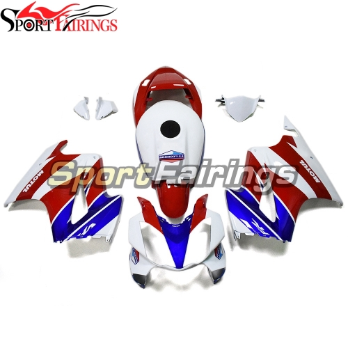 Fairing Kit Fit For Honda VFR800 2002 - 2012 - White Red Blue