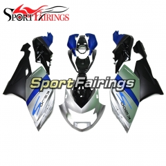 Fairing Kit Fit For BMW K1200S 2005 - 2008 - Blue Silver