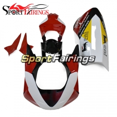 Firberglass Racing Fairings Fit For Aprilia RSV4 1000 2010 - 2015 - Gloss Black White Red