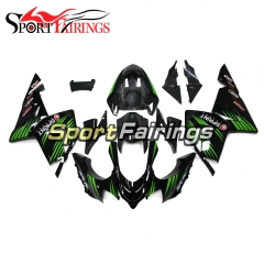 Fairing Kit Fit For Kawasaki ZX10R 2004 - 2005 -Elf Gloss Green Black