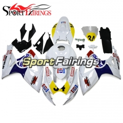 Fairing Kit Fit For Suzuki GSXR600 750 2006 - 2007 - White Yellow