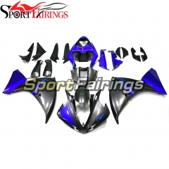 Fairing Kit Fit For Yamaha YZF R1 2009 - 2011 - Silver Blue