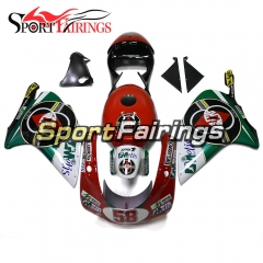 Hot Complete Fairins Fit For Aprilia RS250 1998 - 2002 - 58 Red Green White Black