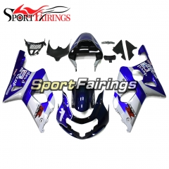 Fairing Kit Fit For Suzuki GSXR1000 K1/K2 2000 - 2002 - White Blue