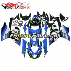 Fairing Kit Fit For Suzuki GSXR600 750 K11 2011 - 2016 - Blue Green Black