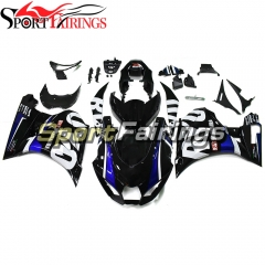 Motorcycle Fairing Kit Fit For Suzuki GSXR1000 2017 2018 2019 New Arrival Cowlings-Blue White Black