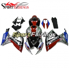 Fairing Kit Fit For Suzuki GSXR600 750 2006 - 2007 - Blue Red Silver