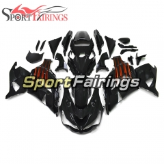 Fairing Kit Fit For Kawasaki ZX-14R /ZZ-R1400 2012 - 2015  - Gloss Black Orange Decals