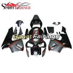 Fairing Kit Fit For Honda CBR600RR F5 2003 - 2004 - Grey Black Red Stripe