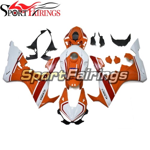 Fairing Kit Fit For Honda CBR1000RR 2017 2018- White Orange Red