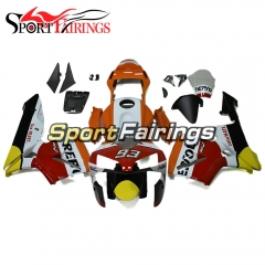 Fairing Kit Fit For Honda CBR600RR F5 2003 - 2004 - Repsol White Orange Red Black Yellow