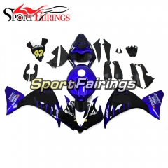 Fairing Kit Fit For Yamaha YZF R1 2012 - 2014 -Black Blue