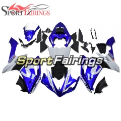 Fairing Kit Fit For Yamaha YZF R1 2007 2008 - White Blue