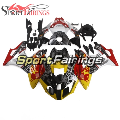 Fairing Kit Fit For BMW S1000RR 2011 - 2014 - Red Yellow Black