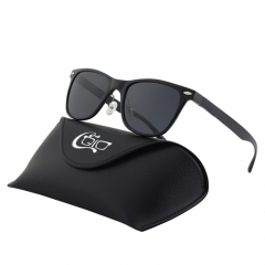CGID Classic Mirrored Polarized Square Sunglasses