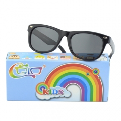 CGID Soft Rubber Kids Square Polarized Sunglasses UV400