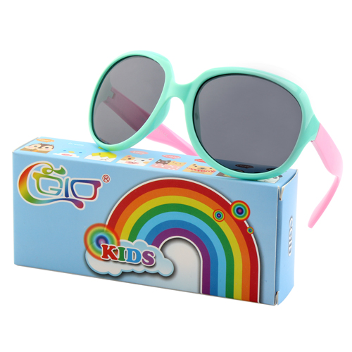 CGID Soft Rubber Kids Oversized Fashion Sunglasses UV400