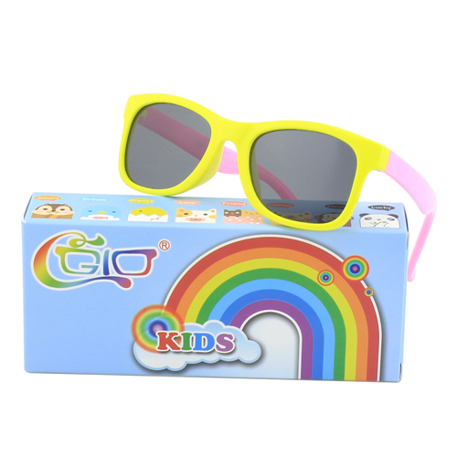 CGID  Soft Rubber Polarized Sunglasses for Kids and Children