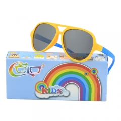 CGID Soft Rubber Kids Fashion Aviator Sunglasses UV400
