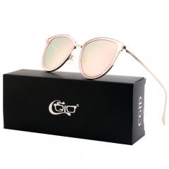 CGID Double Lens Mirrored Polarized Oversized Sunglasses