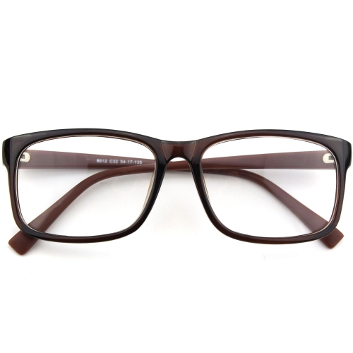CGID Classic  plastic Frame Square Frame Clear Glasses