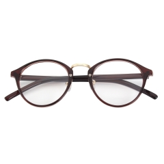 CGID  Vintage Inspired Classic Round Clear Glasses