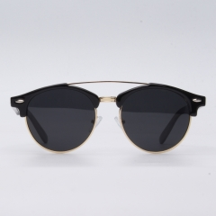 CGID Classic Mirrored Polarized Semi-Rimless Sunglasses