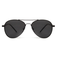 CGID Classic Metal  Polarized Pilot Sunglasses with Spring Hinges