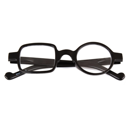 CGID Classic Square Plastic Reading Glasses, Computer Readers  for Men and Women